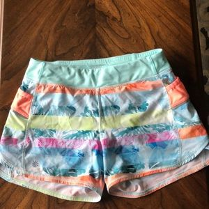 Girls athleta shorts XL/14